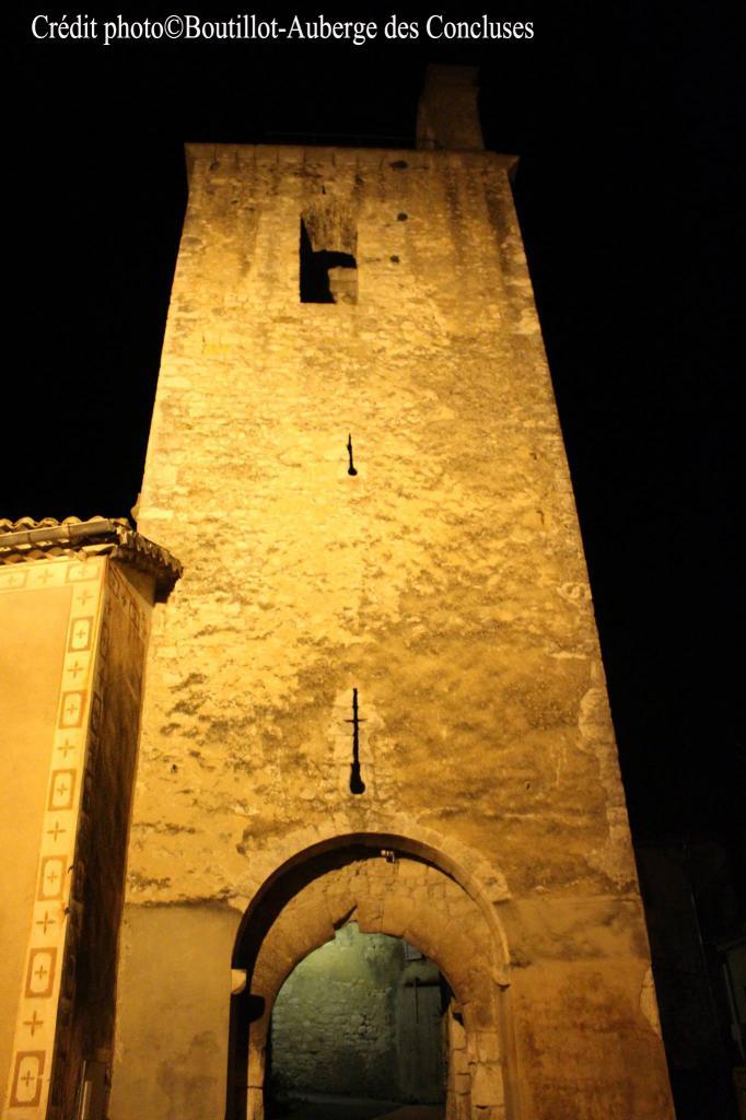 clocher vue de nuit verfeuil