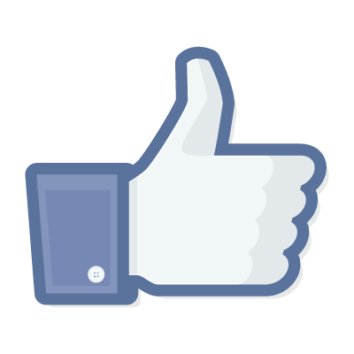 Facebook like logo vector 400x400