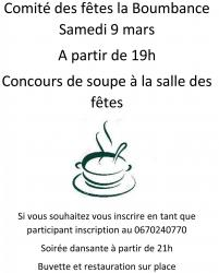 Soiree soupe flyer