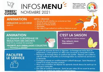 Infos menu novembre copie